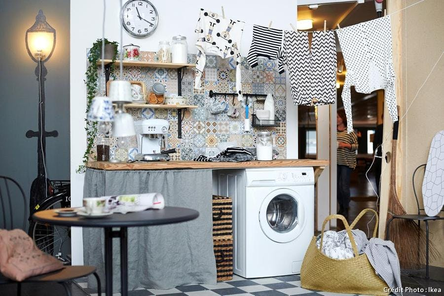 8 Idees Pour Amenager Un Coin Buanderie Maison Creative