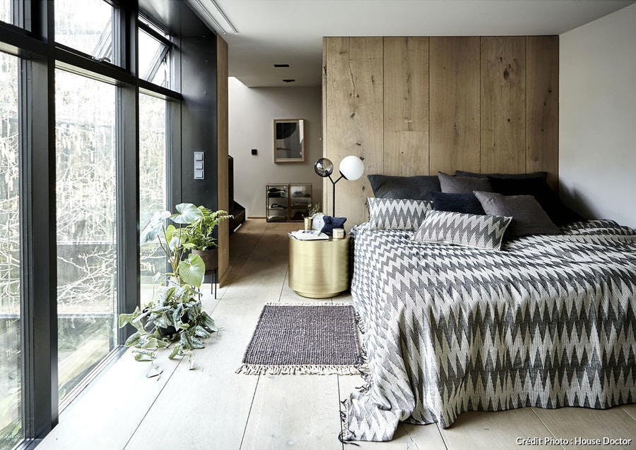 chambre scandinave moderne