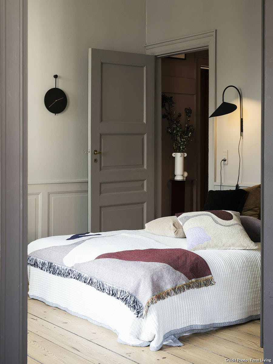 chambre scandinave cocooning