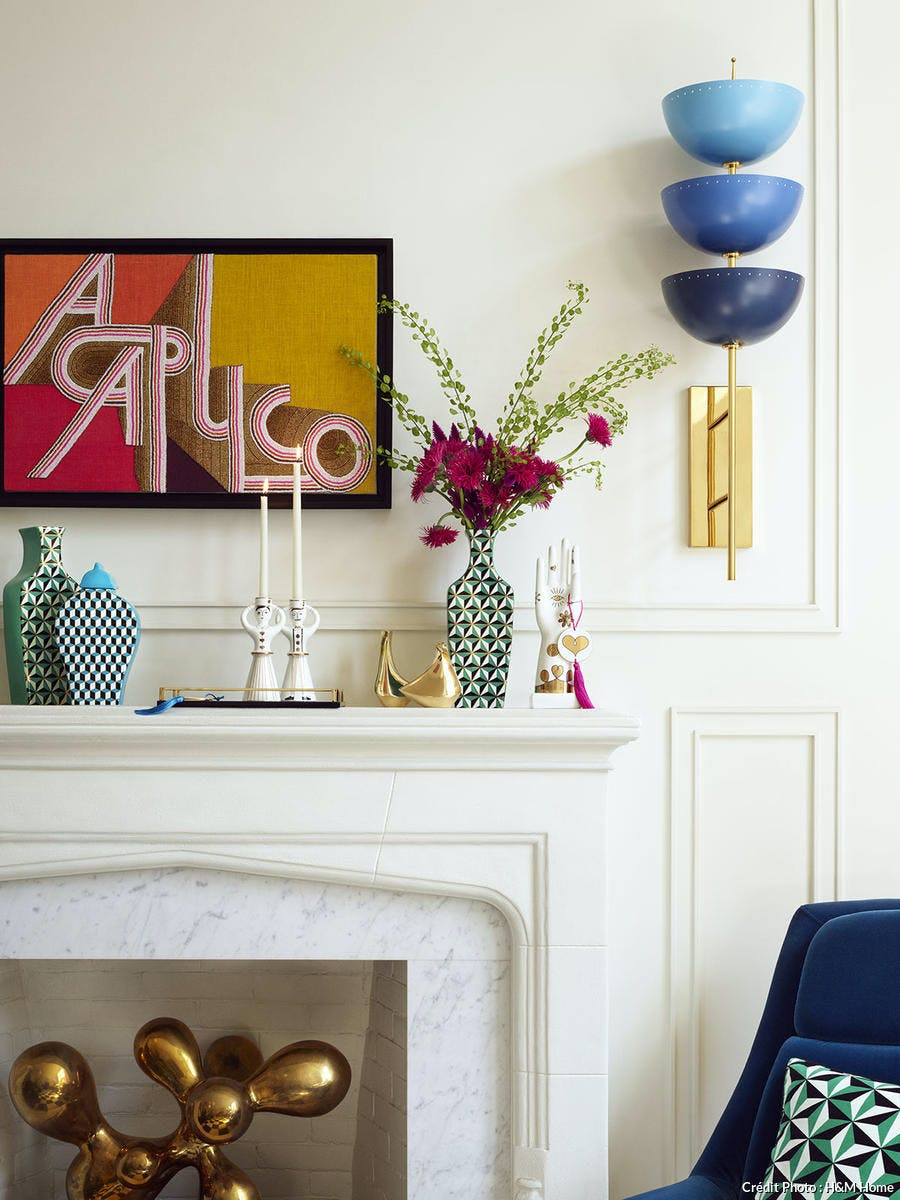 collaboration entre Jonathan Adler et H&M Home