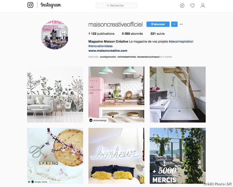 renovation maison instagram