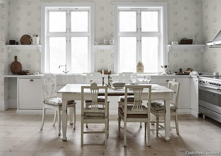 cuisine blanche campagne