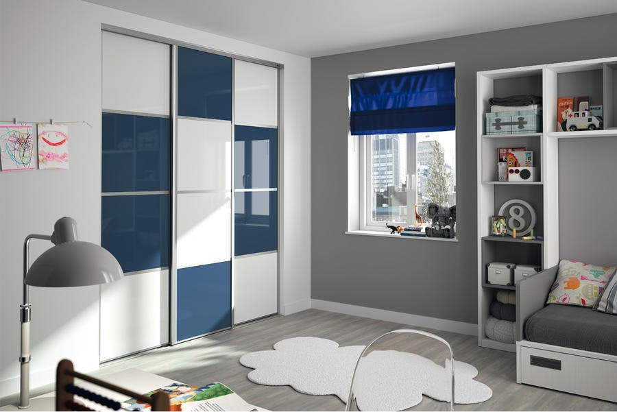 M Decoration Bleu Chambre Kazed
