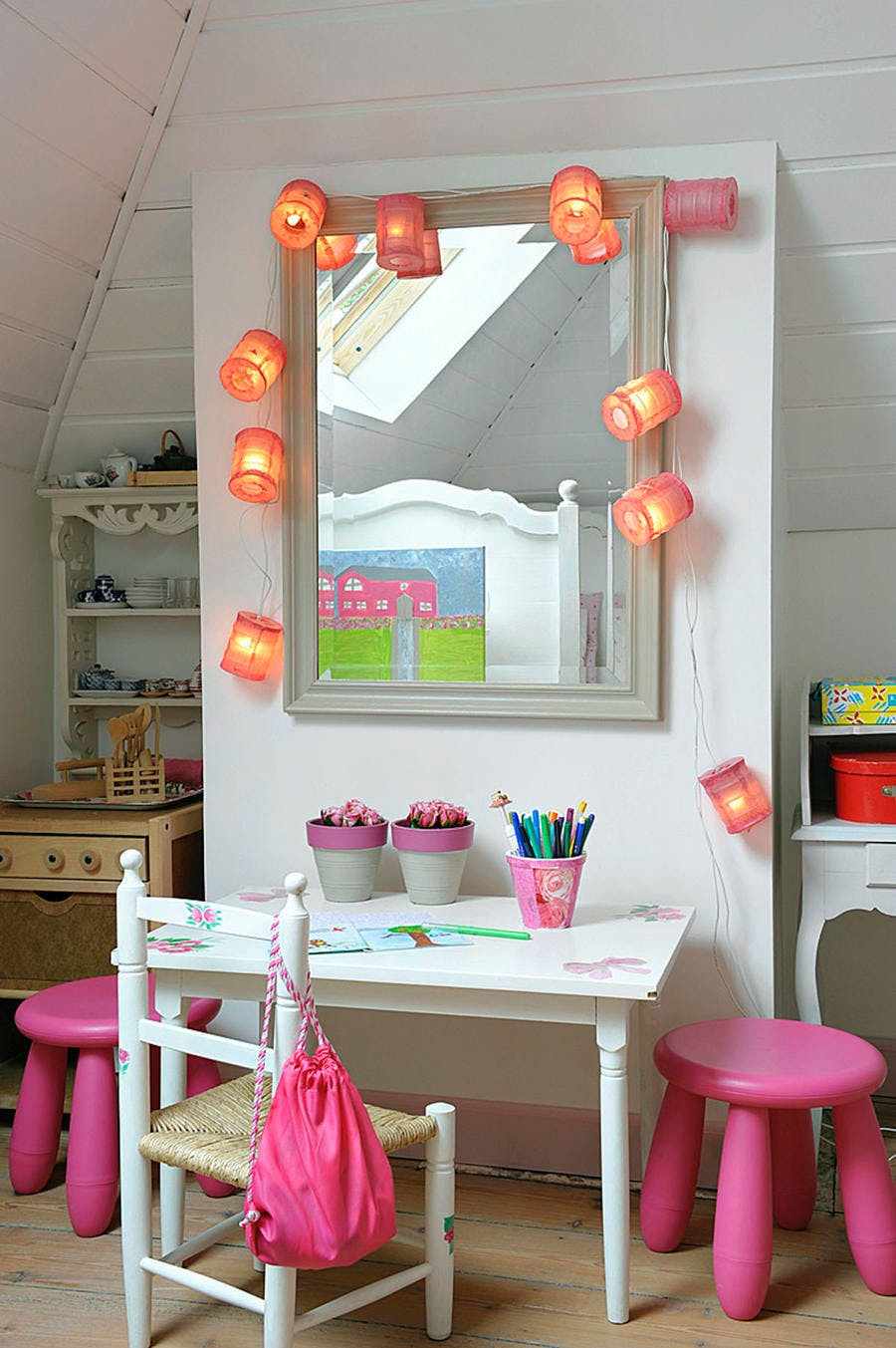 Miroir girly
