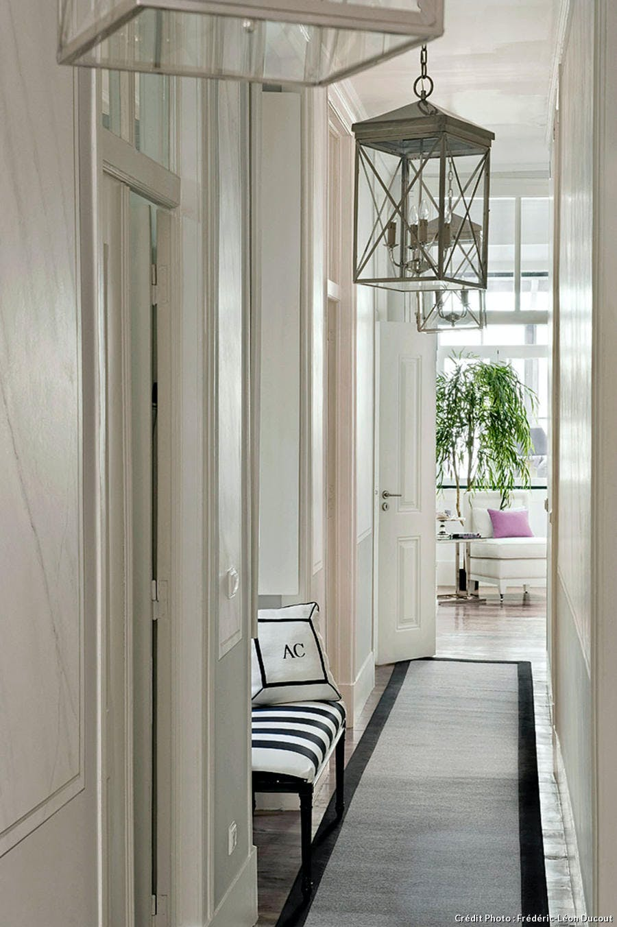 Appartement Lisbonne, le couloir