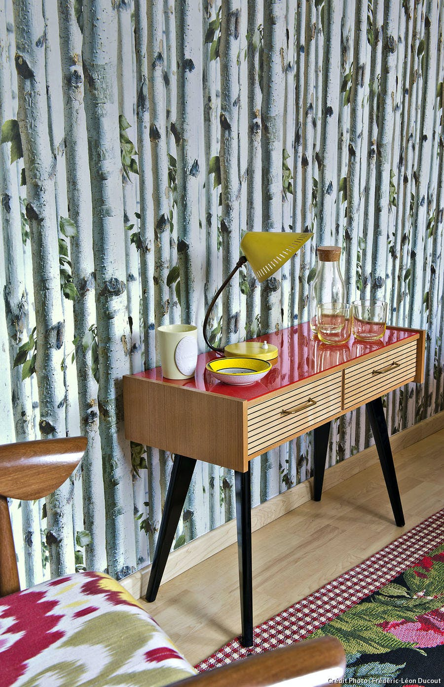 Table-commode de l'appartement showroom dans l'Orne