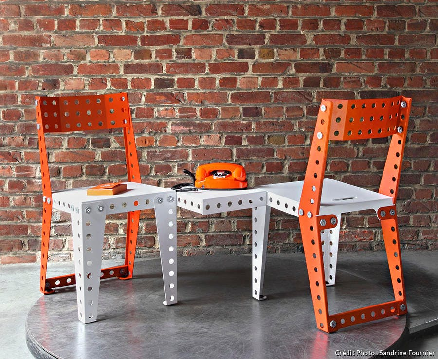 Chaise Meccano Home