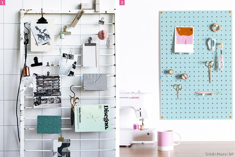 Pegboards modulaires