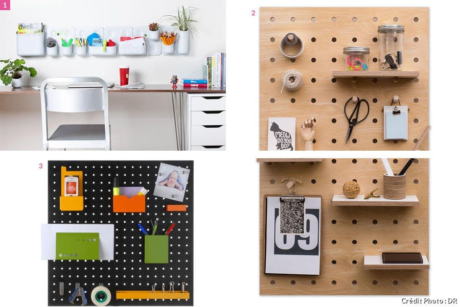 Pegboards modulables
