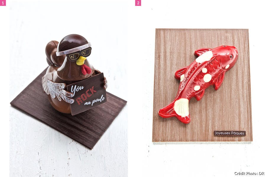 Animaux chocolat de Christophe Michalak