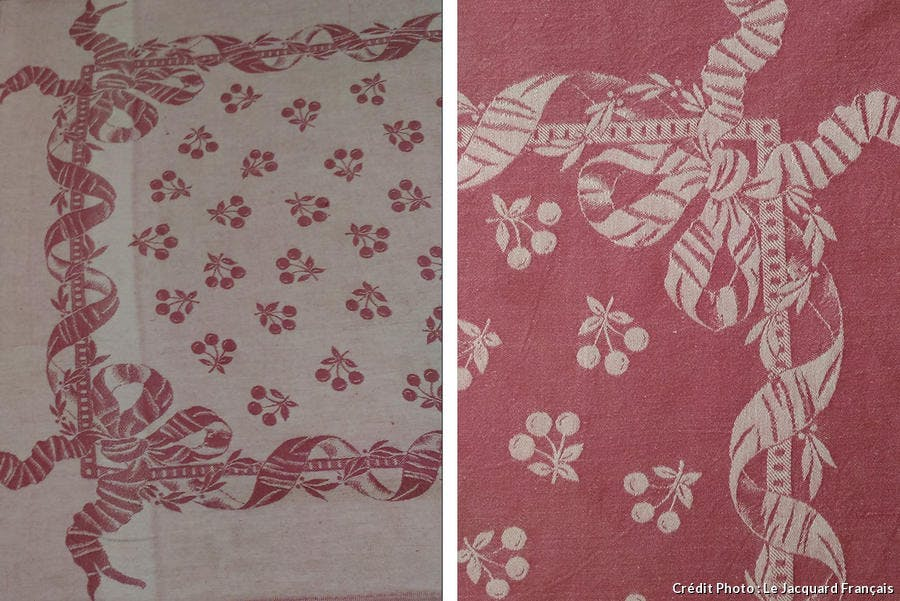 Jacquard Français collection Cerise