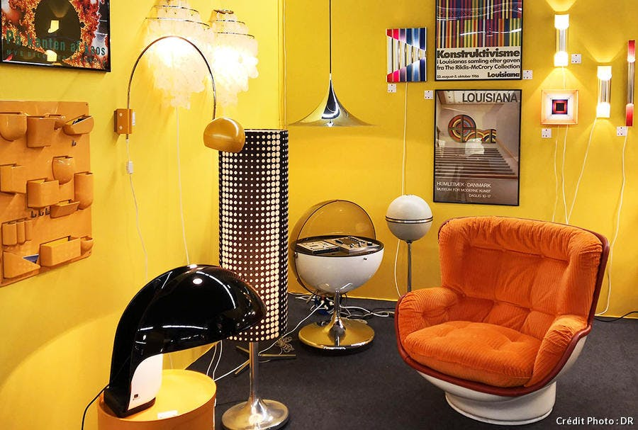 Ambiance vintage a la Paris design Fair