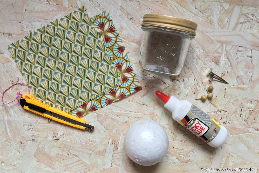DIY customiser des bocaux
