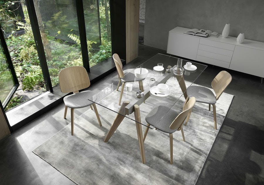 concept table salle a manger invisible