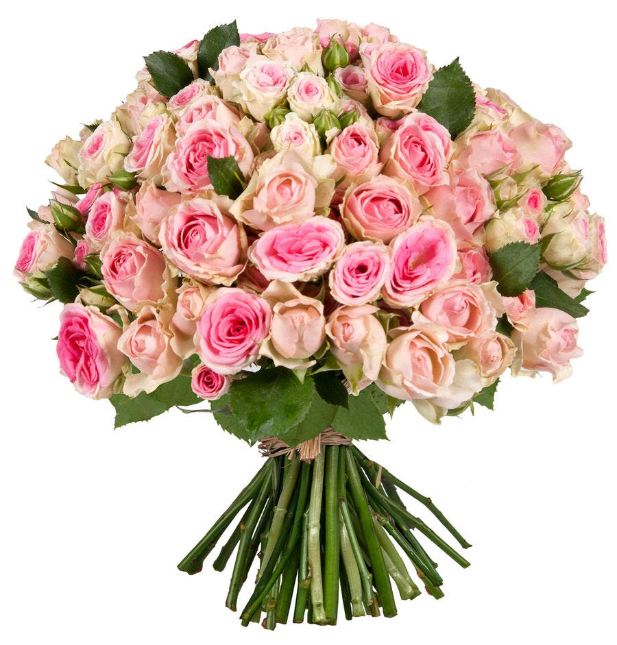 bouquet saint valentin rose mini eden