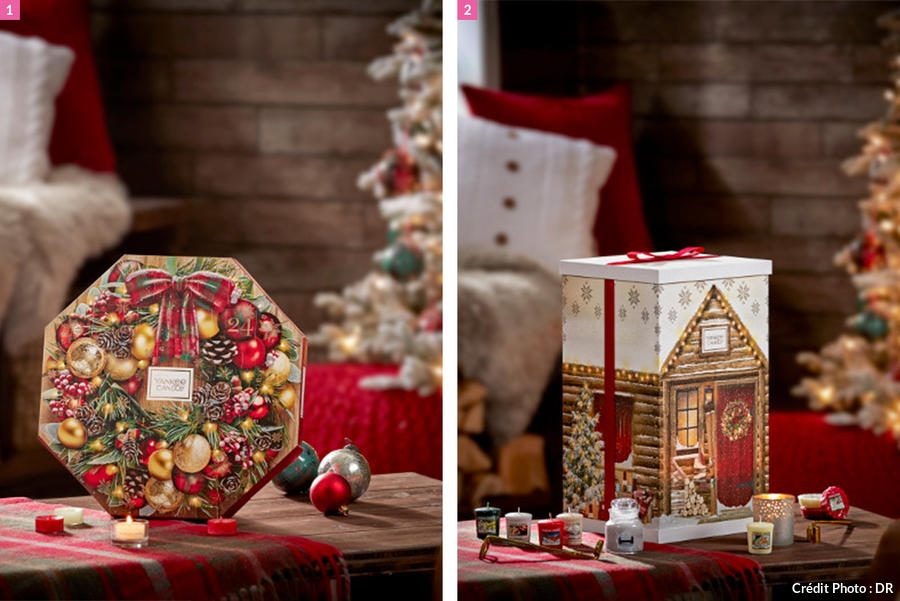 calendriers de l'avent bougies yankee candle 2019