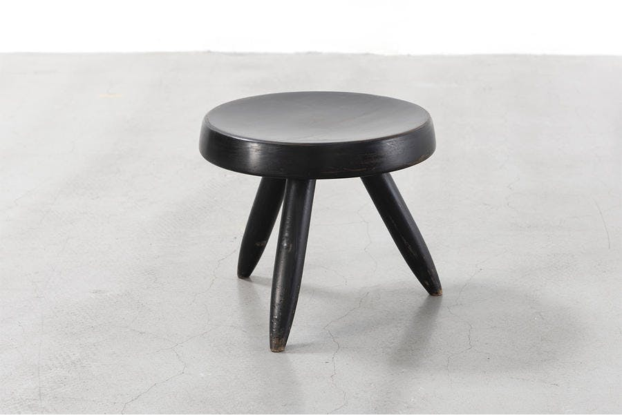 Charlotte Perriand Tabouret, ca. 1955 Collection Laurence et Patrick Seguin