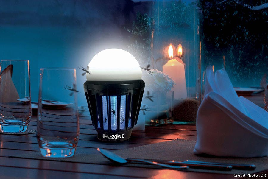 lampe de table anti-moustique
