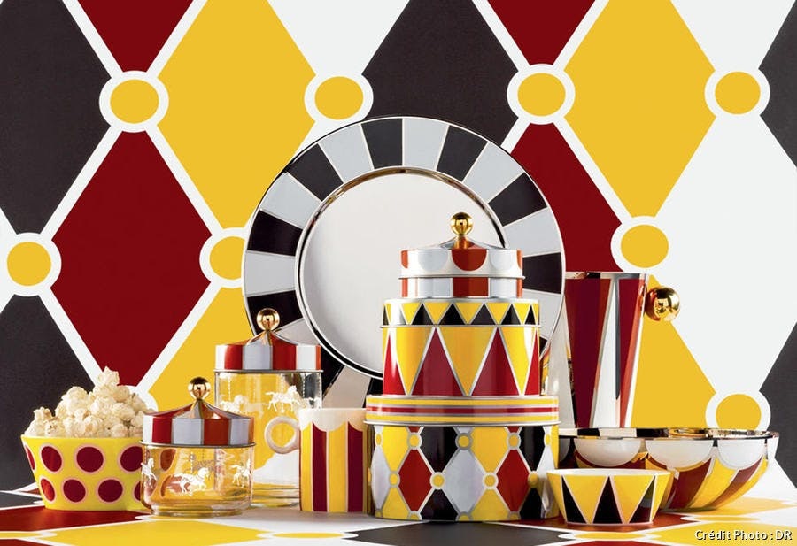 la collection circus de marcel wanders pour alessi