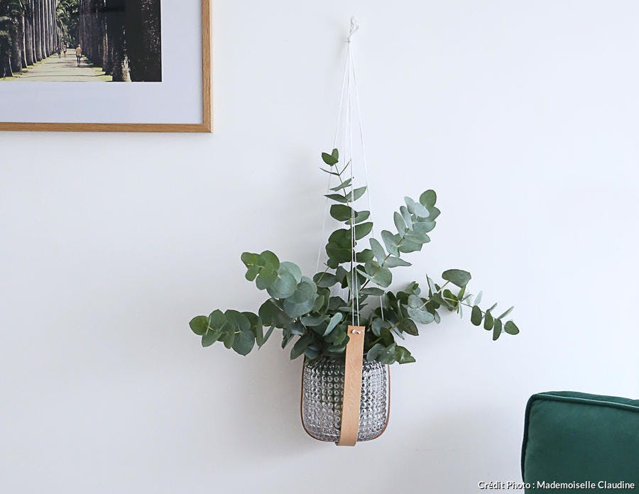 Suspension en cuir pour plante - DIY Dremel