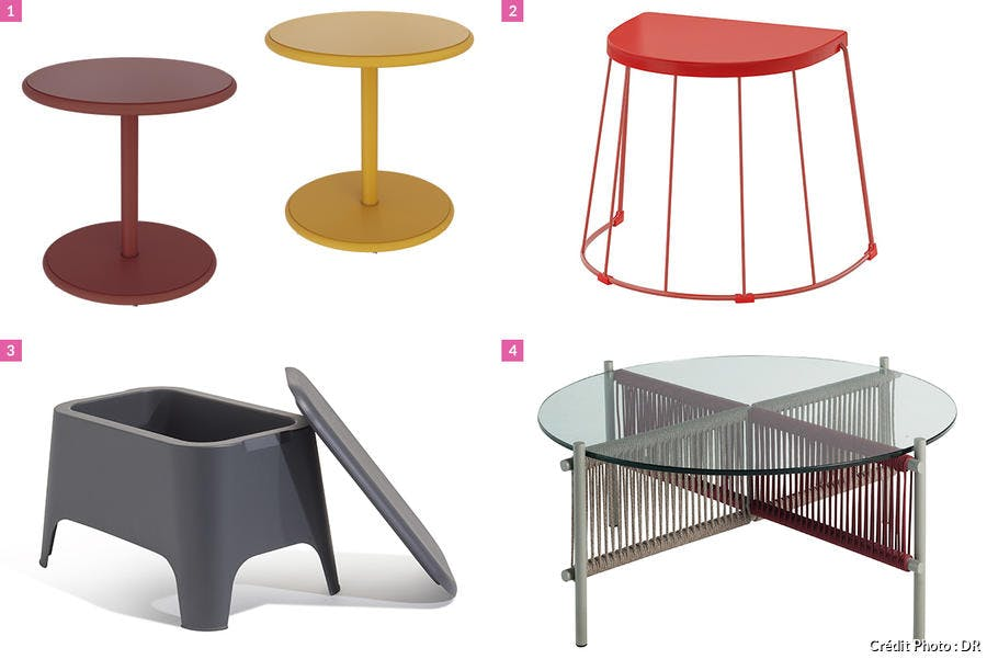 shopping tables basses de jardin