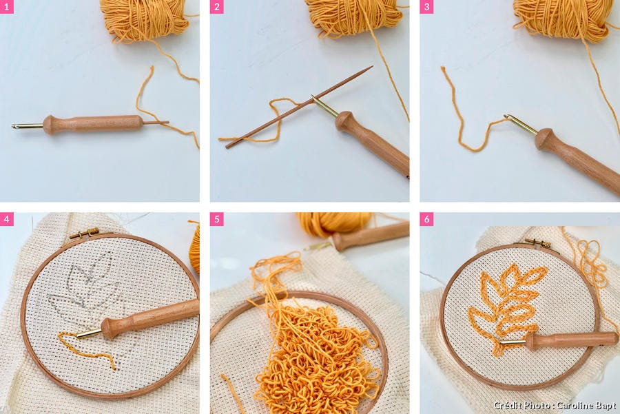 DIY punch needle