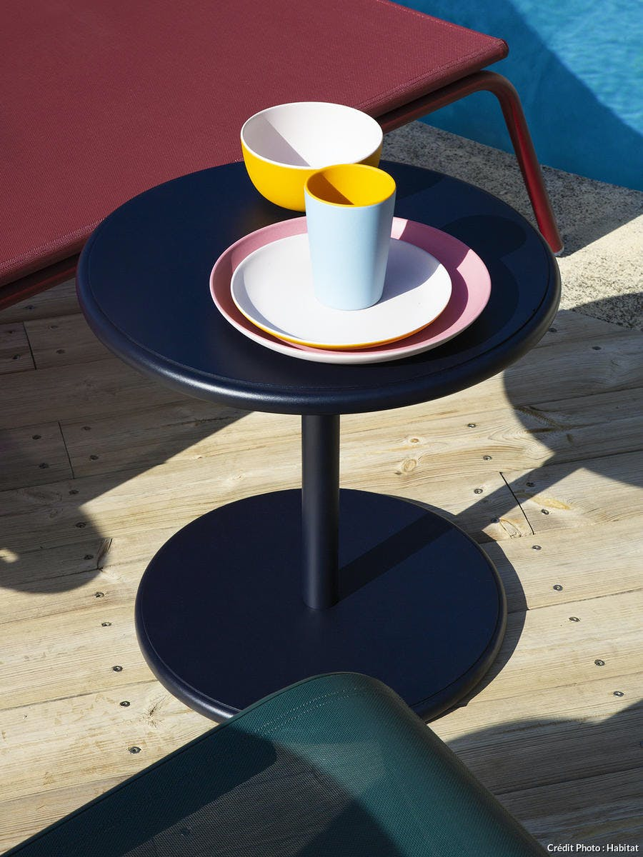 table basse outdoor printemps/été 2020 Habitat
