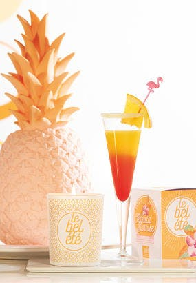invitation ananas cocktail