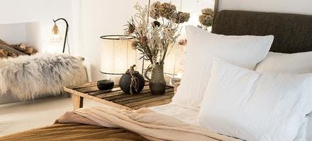 lit cocooning chambre