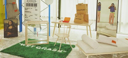 collection virgin abloh et ikea