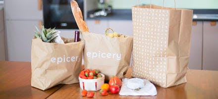 Applications pour le confinement Grocery