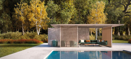 Pool house moderne